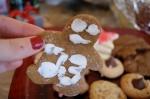 Joe's army of gingerbread men & Leah's PB Kisses